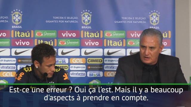 «Il a un grand coeur» : comment Tite a mis Neymar en émoi