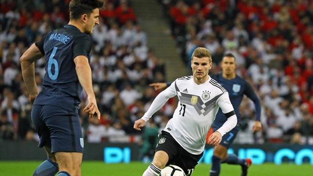 Amistoso, Inglaterra-Alemania: Pruebas a falta de goles (0-0)