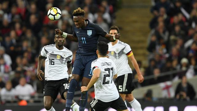 Second-string England hold Germany to draw