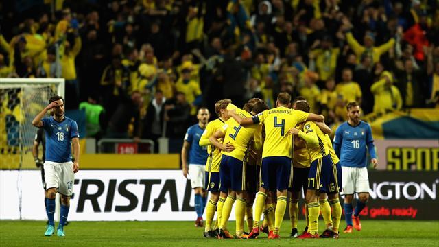 La Suède met l'Italie au pied du mur