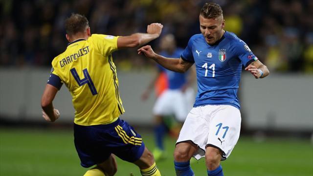 Toujours pas d'Insigne pour l'Italie, du classique côté suédois