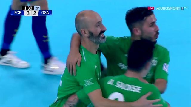 LNFS, Barcelona Lassa-Osasuna Magna: Eseverri enmudeció al Palau desde los once metros (3-3)
