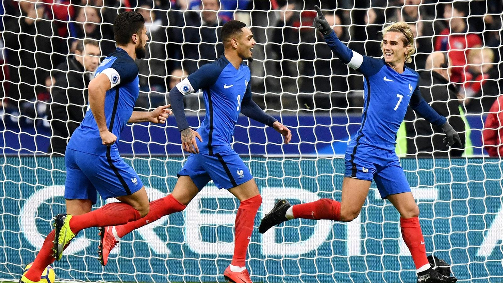 Equipe de france griezmann en 10 une vraie solution match amical 2017 football eurosport - Resultat match coupe de france ...