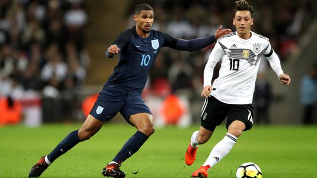 England boss Gareth Southgate enthused by 'top debuts' in Germany stalemate