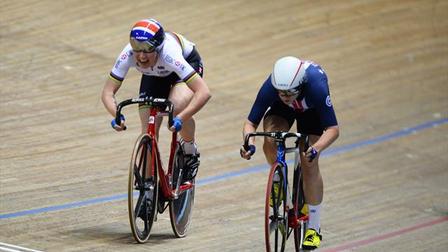 Archibald adds World Cup omnium silver to 2017 haul