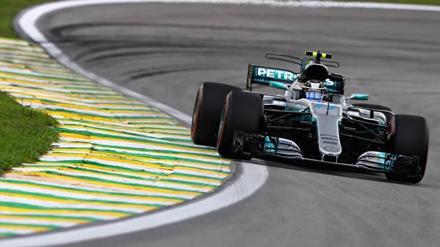 Bottas in pole davanti a Vettel per 38 millesimi! Hamilton out nel Q1
