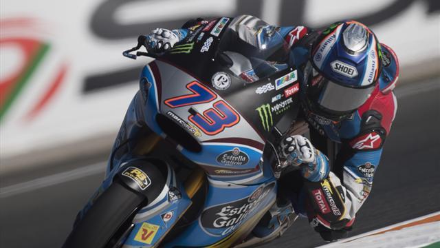Tony Arbolino ed Alex Marquez chiudono in vetta con tempi da record i test in Moto2-Moto3