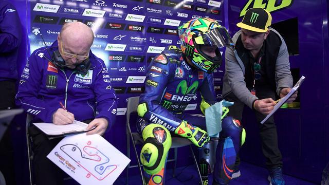 "Rossi : ""La Yamaha 2016 sera la base du modèle 2018"""
