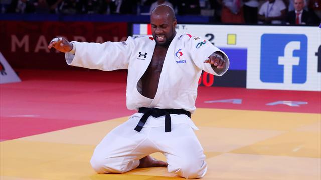 Vingt mois après son dernier combat et à un an des Jeux, Riner remonte sur le tatamis