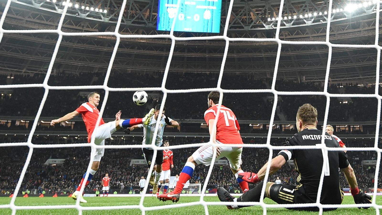 Прогноз на матч Россия - Аргентина