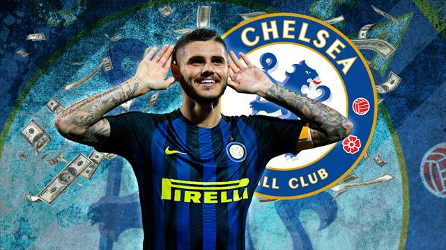 Transfer Focus: Sarri backed to make Icardi 'new Ronaldo' at Chelsea