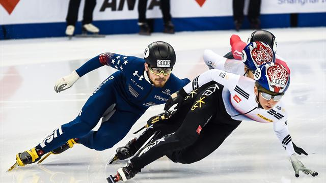 America stun South Korea in Short Track World Cup relay