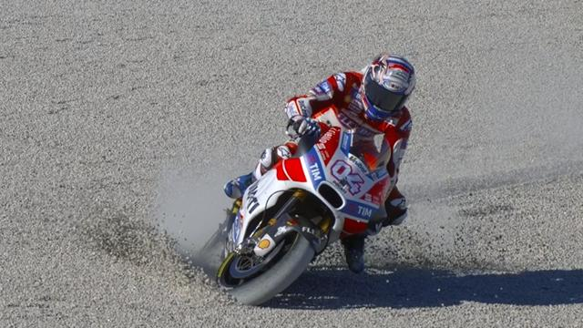 Dovizioso says Lorenzo didn't hold him up