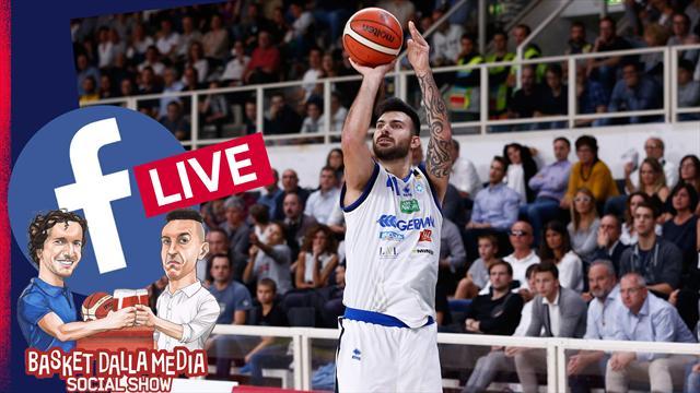Via al social show del basket: lunedì alle 18:00 LIVE su Facebook con Sacchetti e Basket dalla Media