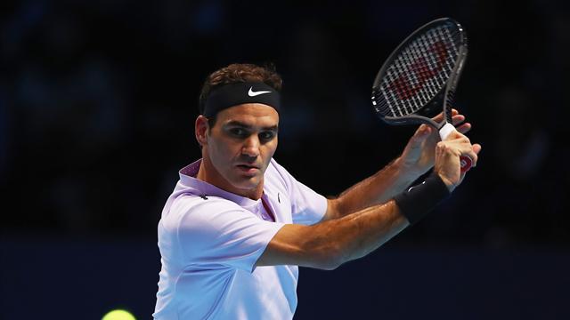 Federer beats Sock to clinch opening win in London