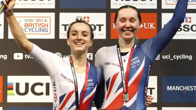 Double delight for Archibald and Barker after women's pursuit win