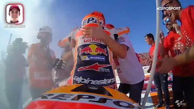 Party onboard: So feiert Márquez seinen Weltmeistertitel
