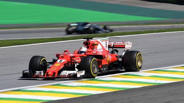 Formel 1: Vettel gewinnt in Sao Paulo - Hamilton nach Aufholjagd Vierter