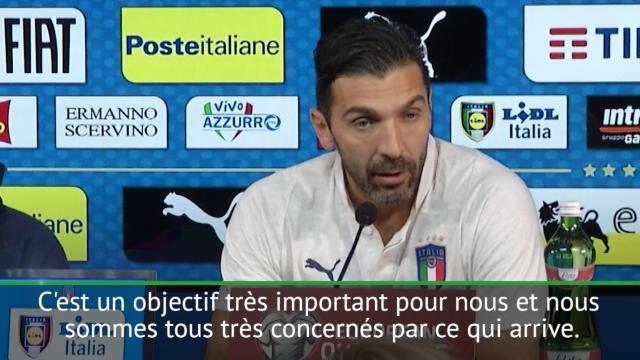 """Buffon : """"Le temps n'est plus aux paroles"""""""