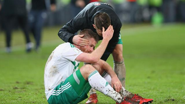 Northern Ireland's finals dream crushed by Switzerland in dramatic ending