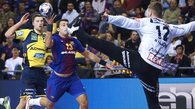 26-26. El Barcelona cede un punto ante un sólido rival en un gran choque