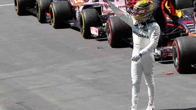 """Hamilton: """"He tenido tanto ritmo que habría sido una victoria fácil"""""""