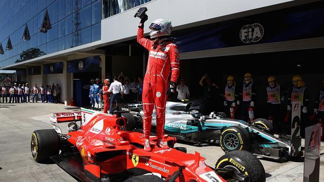 """Vettel: """"Bello vedere due Rosse sul podio, ma nel 2018 la Ferrari deve vincere il Mondiale"""""""