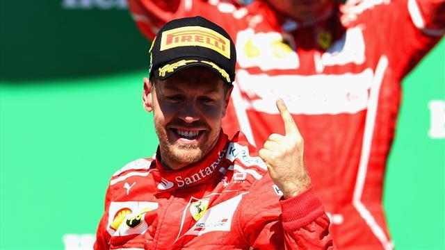 Il graffio di Vettel per l'orgoglio Ferrari. Ma la prova di forza di Hamilton fa paura