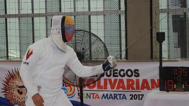 Venezuela captura las dos primeras medallas de oro en esgrima