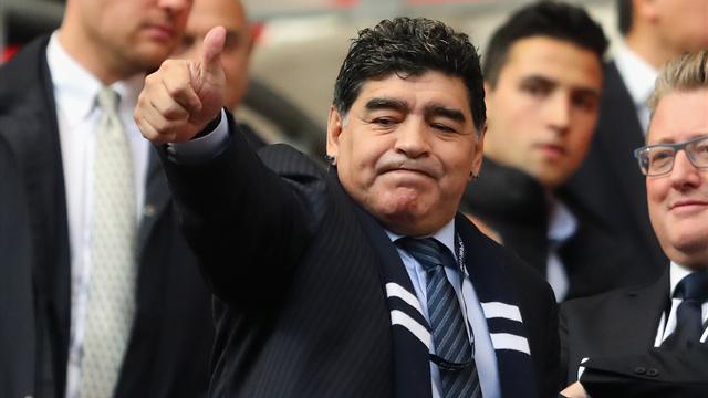 Maradona von russischen Sicherheitskräften nicht erkannt