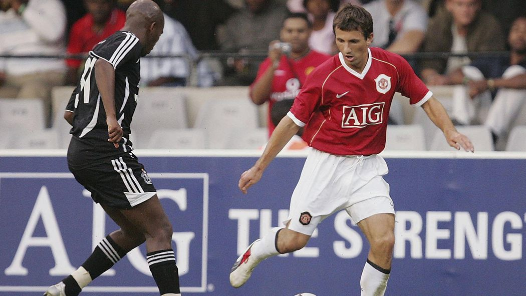 Former Manchester United, Celtic and Ireland player Liam Miller ...