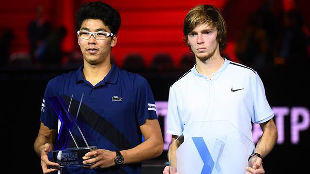 Privés de points au Masters Next Gen, Chung et Rublev... perdent des places au classement