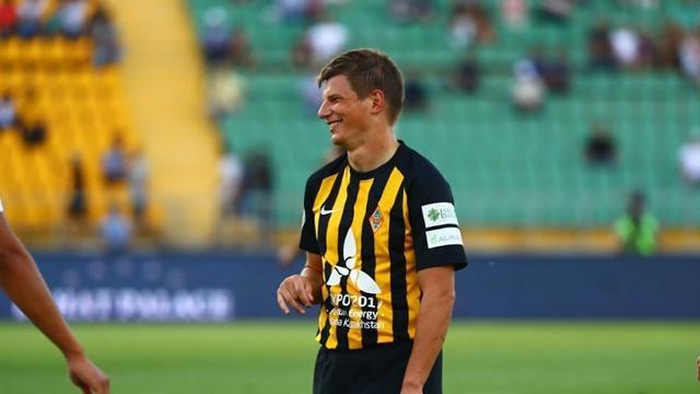 Аршавин вошел в пятерку лучших игроков чемпионата Казахстана