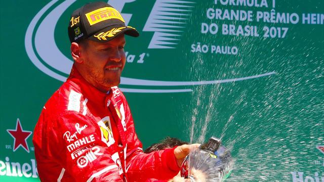 Mehr als fünf Millionen TV-Zuschauer sehen Vettel-Sieg in Brasilien