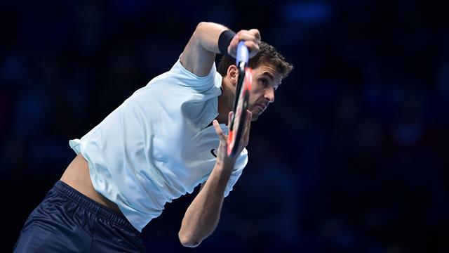 Dimitrov gana a Thiem y se presenta como el rival de Nadal en su grupo (3-6, 7-5 y 5-7)