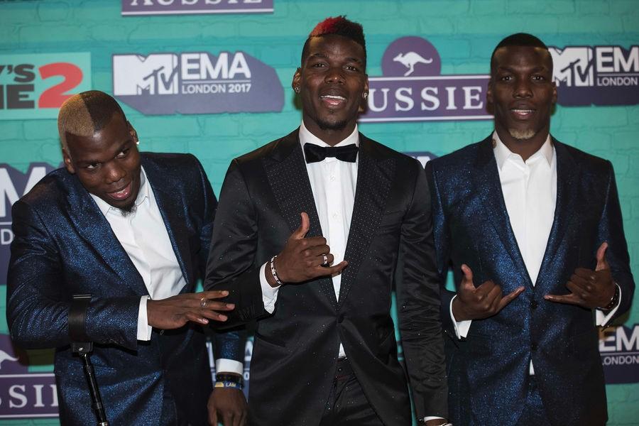 Поль Погба и Деле Алли зажгли на церемонии MTV. Кто оделся круче? - Eurosport
