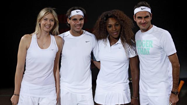Федерер и Надаль обошли Шарапову по подписчикам в соцсетях