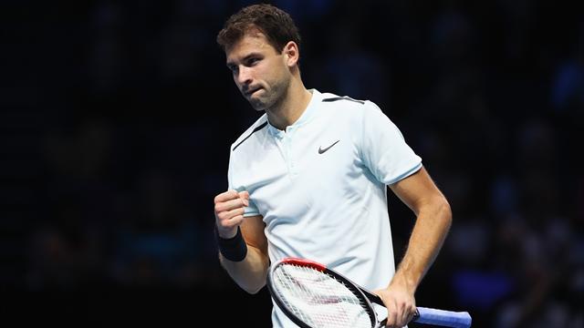 Dimitrov accompagne son modèle Federer en demi-finale du Masters — Tennis