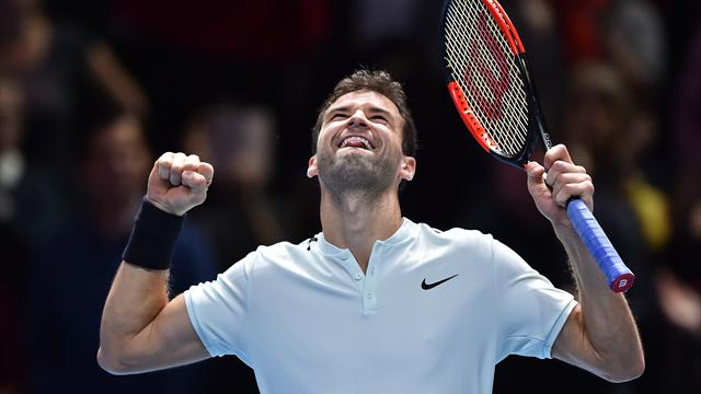Dimitrow feiert gelungenes Debüt bei ATP-Finale