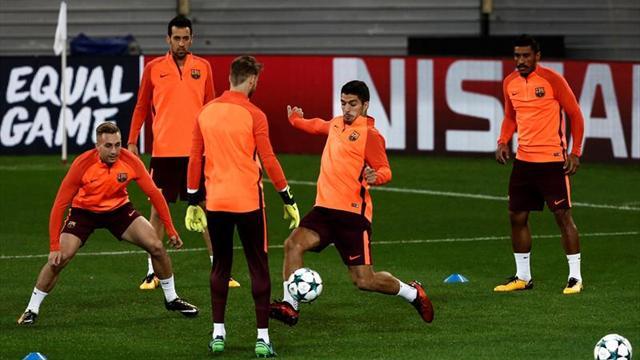 El Barça rinde homenaje al 'rondo', como pilar básico de su juego
