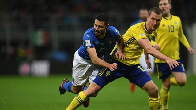 Швеция оставила Италию без ЧМ-2018