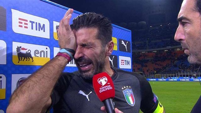 """""""San Gigi"""" verlässt die Squadra Azzurra: Die Fußball-Welt weint mit"""