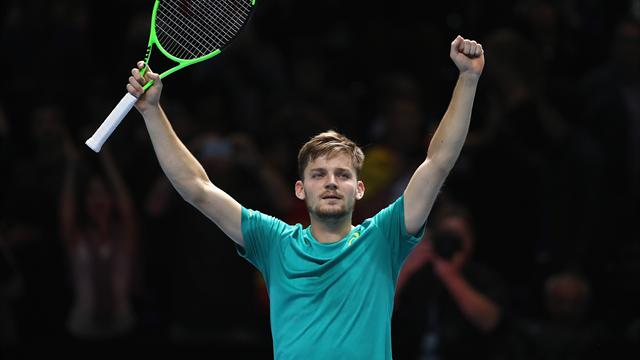 Goffin stuns struggling Nadal, who then quits tournament