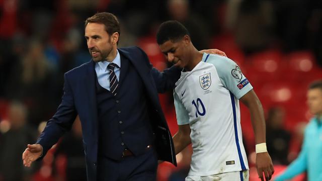 Gareth Southgate hails ability and maturity of England forward Marcus Rashford
