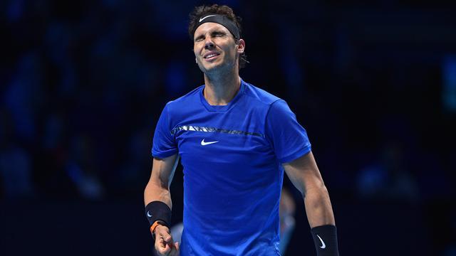 Rafael Nadal hat seinen Auftakt beim ATP-Finale verpatzt
