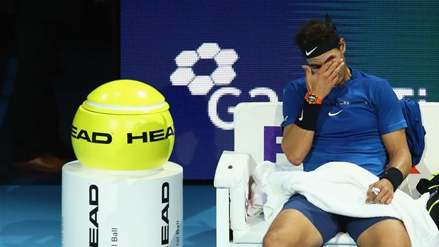 Injured Nadal pulls out of ATP Finals