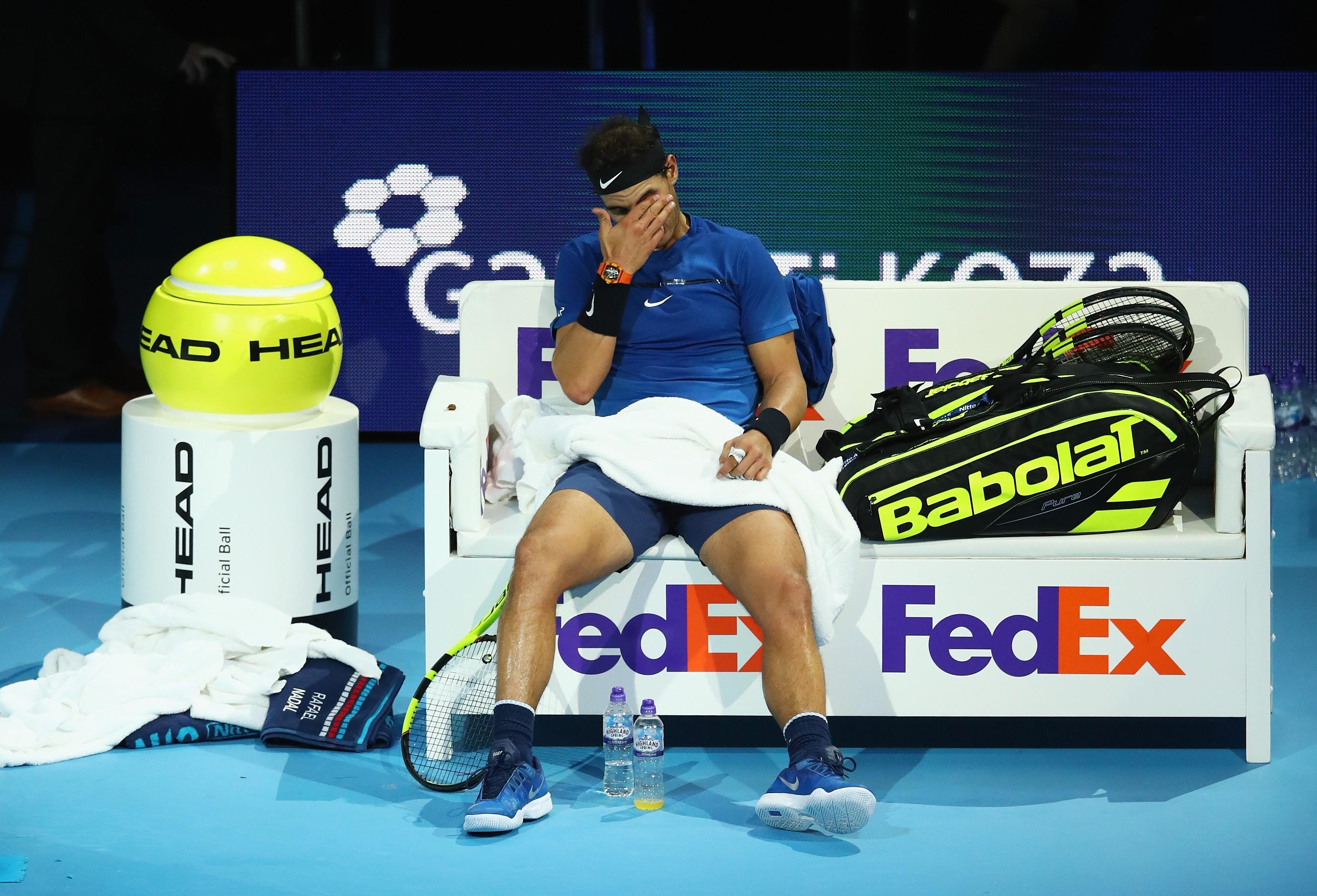Rafael Nadal ATP Finals London