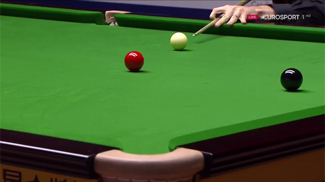Selby's stunning positional shot