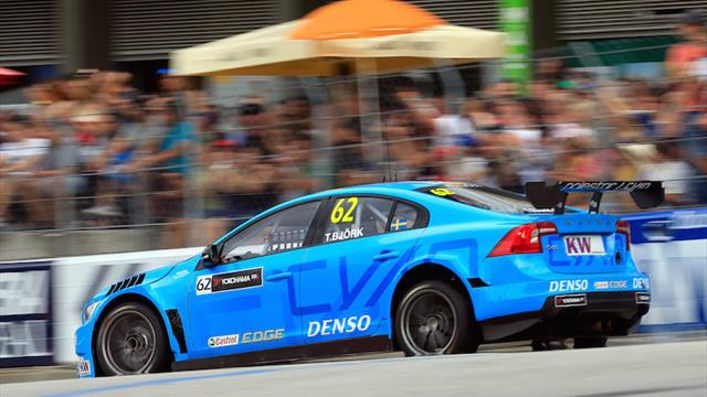"WTCC leader Björk facing ""biggest challenge"""