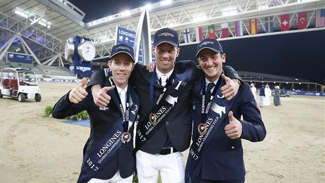 Longines Global Champions Tour 2017: applausi per De Luca e Zorzi